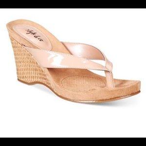 Style & Co Platform Sandals